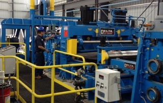 Slitting Line Manufacturing Equipment | Delta Steel Technologies