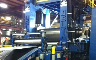 New Temper Mill Cut To Length Line | Delta Steel Technologies