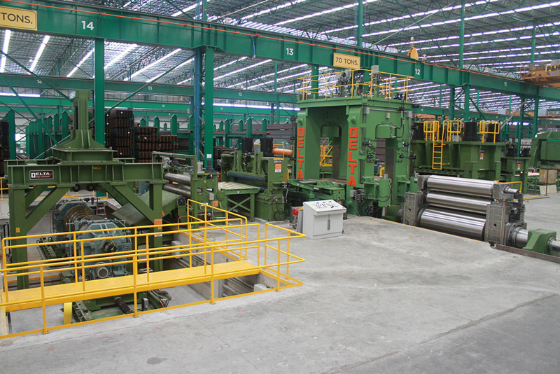 CTL Cut-To-Length Lines Manufacturing Equipment for Delta Steel Technologies