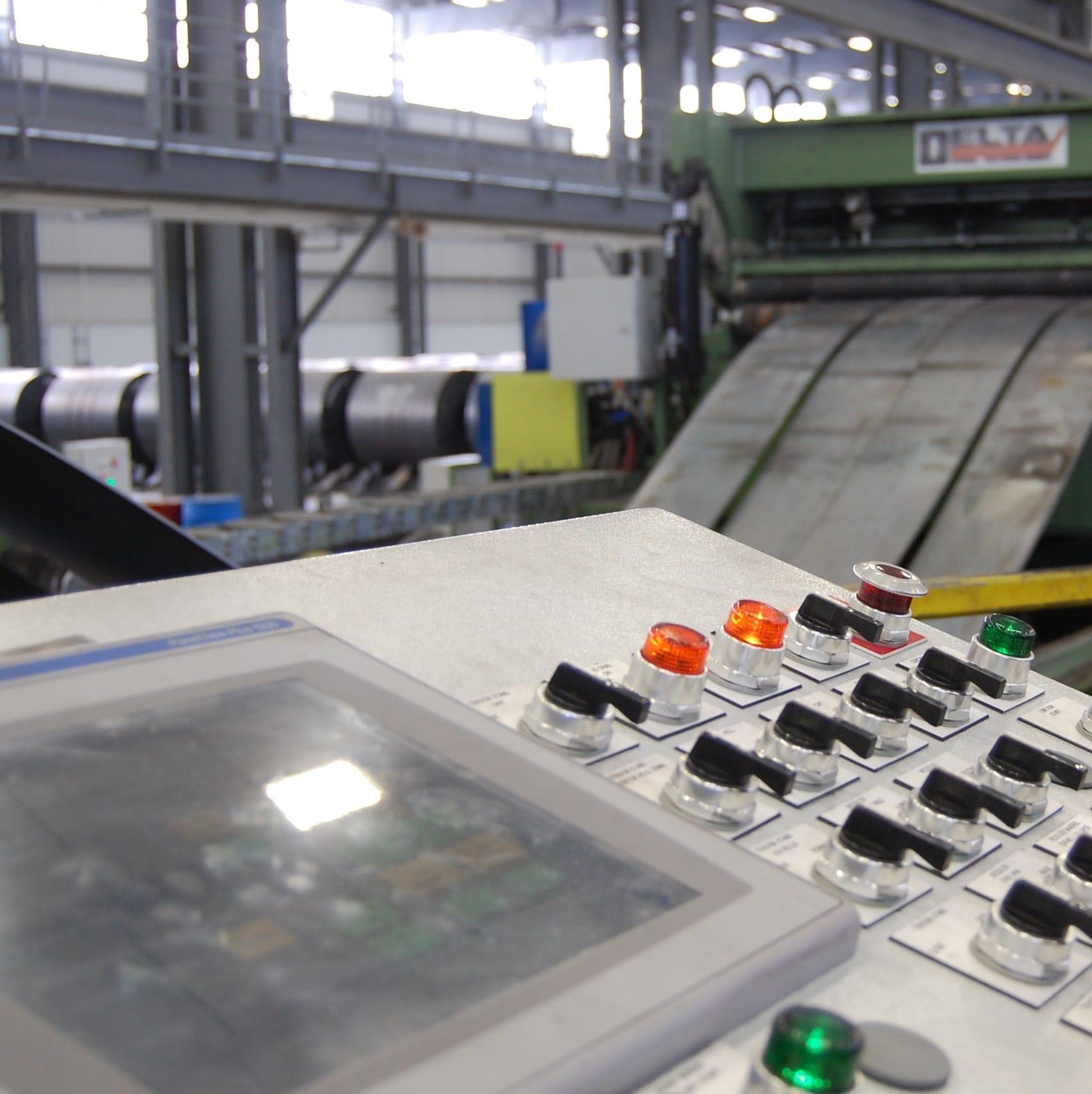 Automation Control Panel | Delta Steel Technologies
